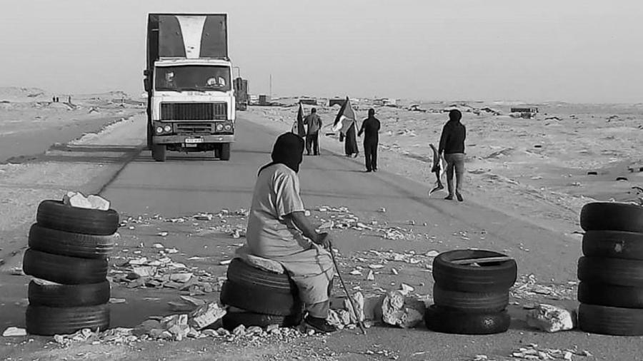 Sahara Occidental paso fronterizo El Guerguerat la-tinta