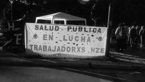 Chubut: trabajadores de la salud piden a los diputados votar en contra de la megaminería