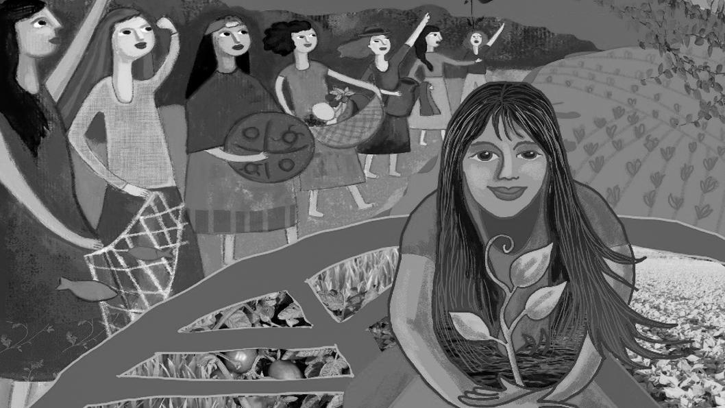 ilustración-desigualdad-género-recursos-naturales