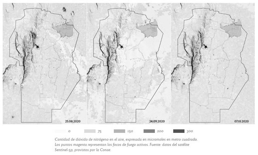 mapa-contaminación-aire-dióxido-nitrógeno
