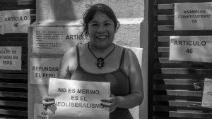 Protestaron en Córdoba contra el Golpe de Estado en Perú