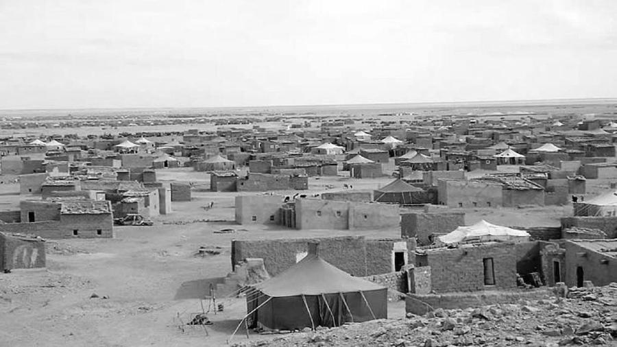 Argelia campamento de refugiados saharauis la-tinta