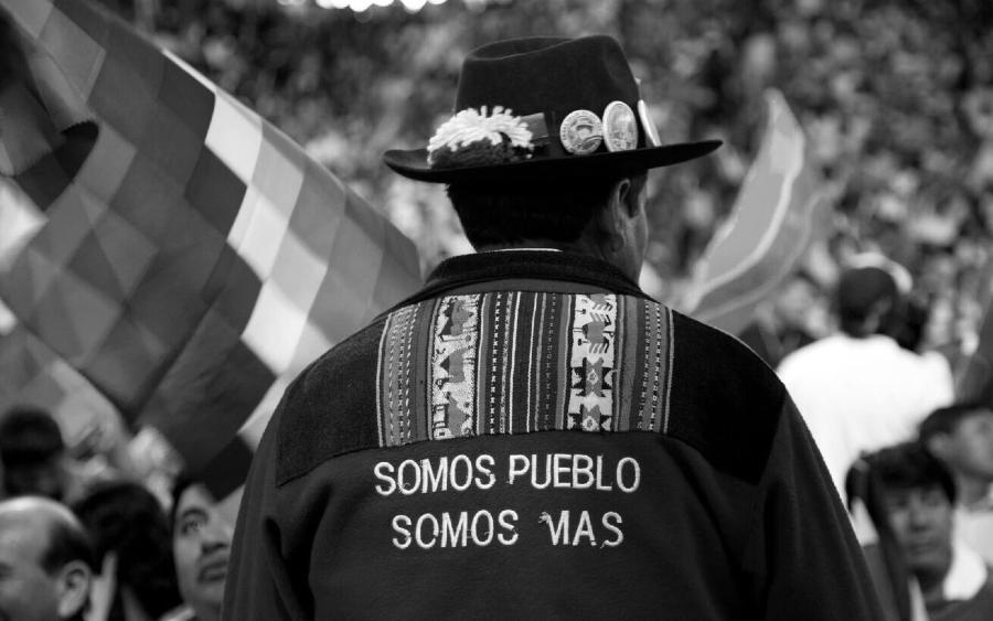 Bolivia MAS militancia la-tinta