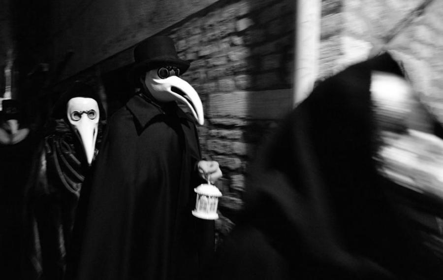 España disfraz mascaras la-tinta