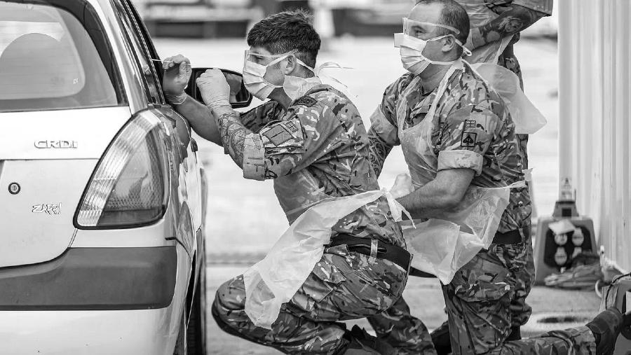 Gran Bretaña coronavirus ejercito la-tinta