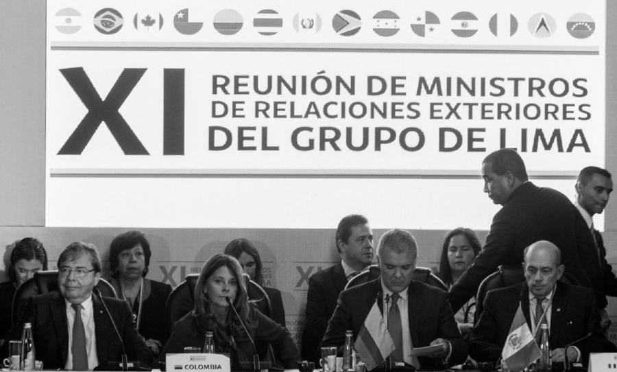 Grupo de Lima reunion cancilleres la-tinta