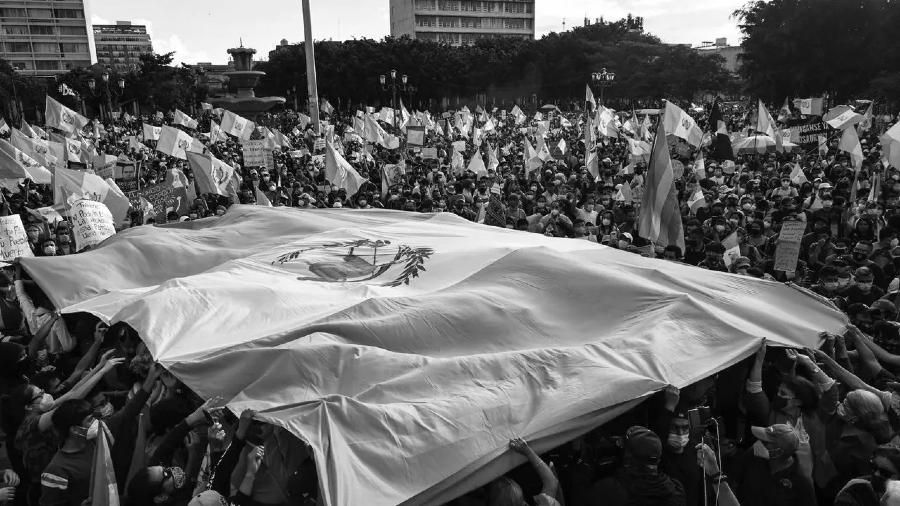 Guatemala movilizaciones masivas la-tinta