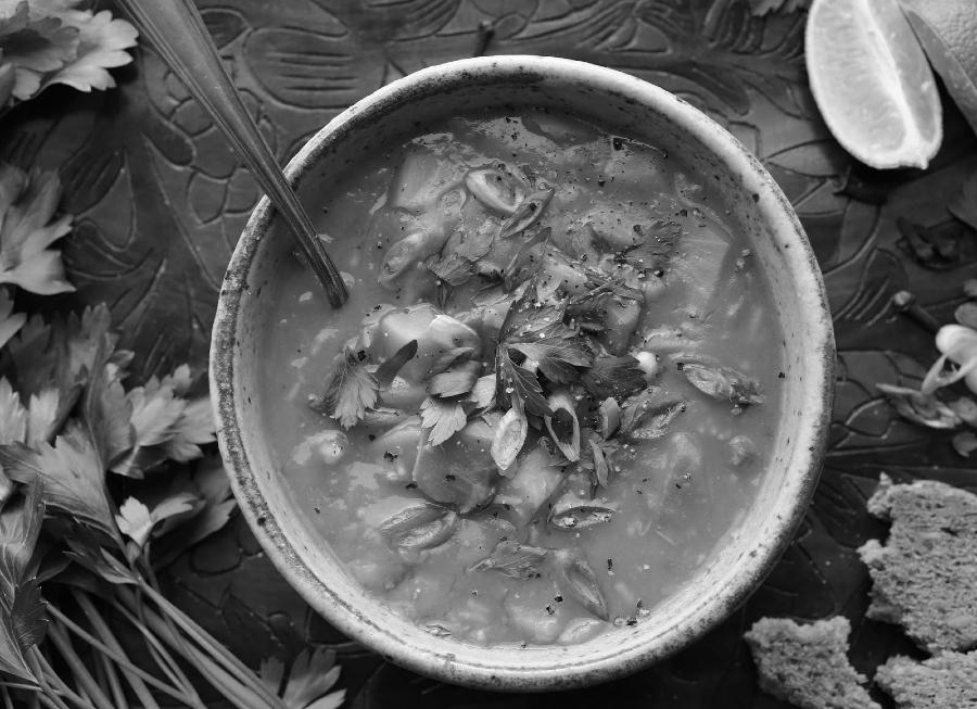 Haiti sopa de calabaza año nuevo la-tinta