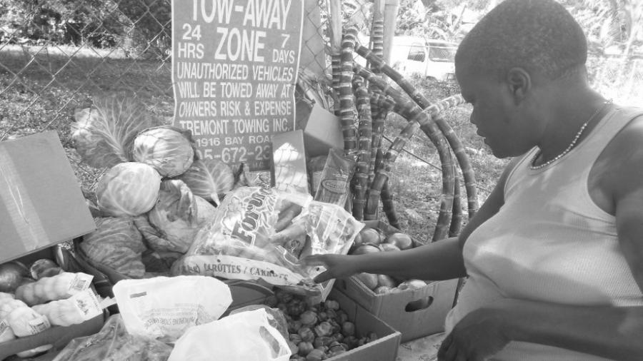 Haiti verduras tradicionales la-tinta