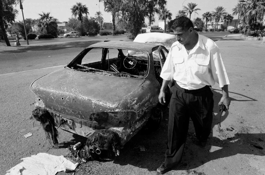 Irak Blackwater masacre Plaza Nisour la-tinta