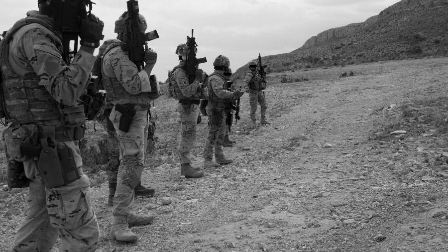 Irak militares extranjeros la-tinta