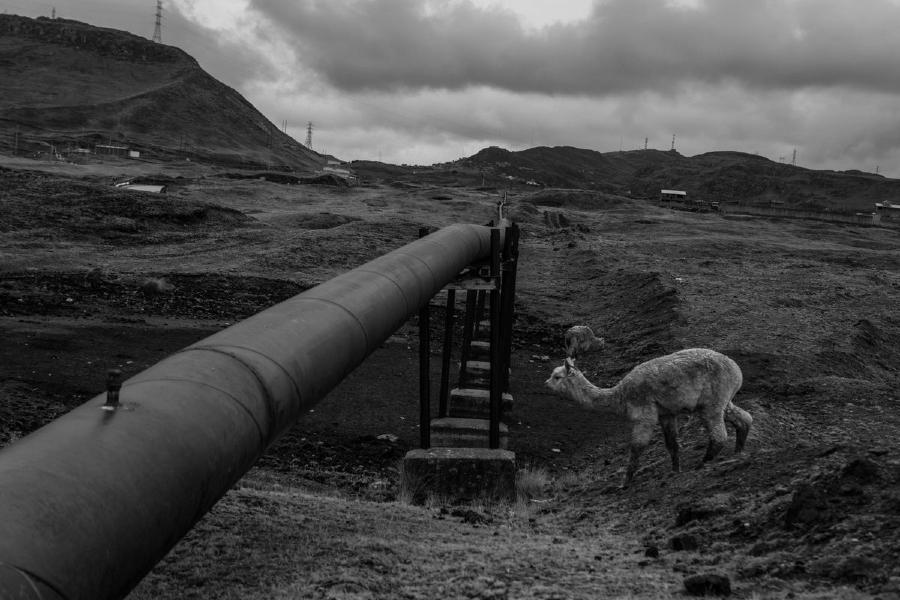 Peru Cerro Pasco campesinos la-tinta