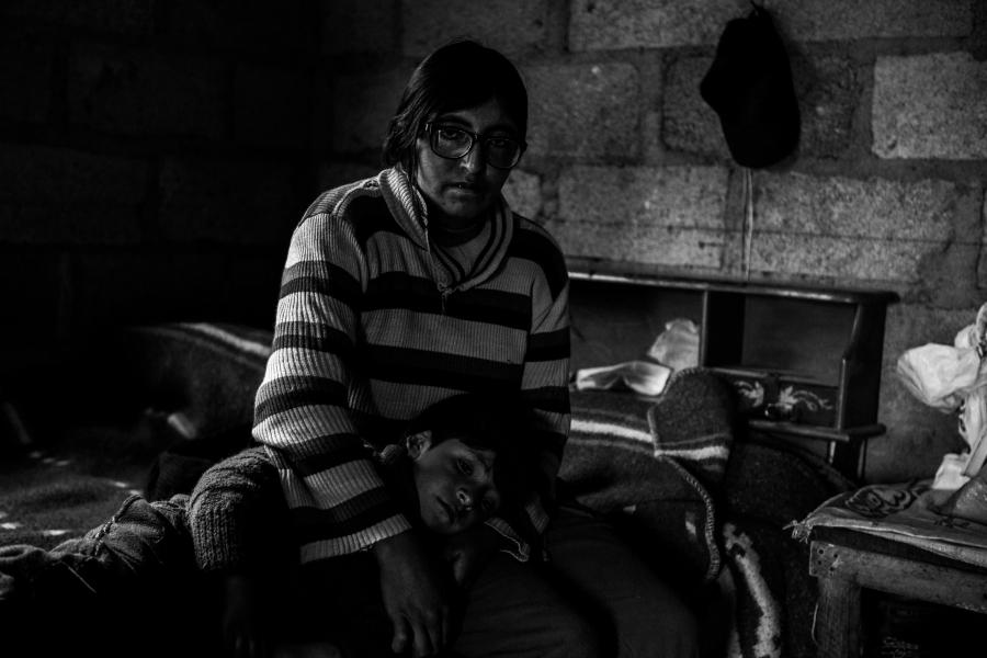 Peru Cerro pasco niños con plomo la-tinta