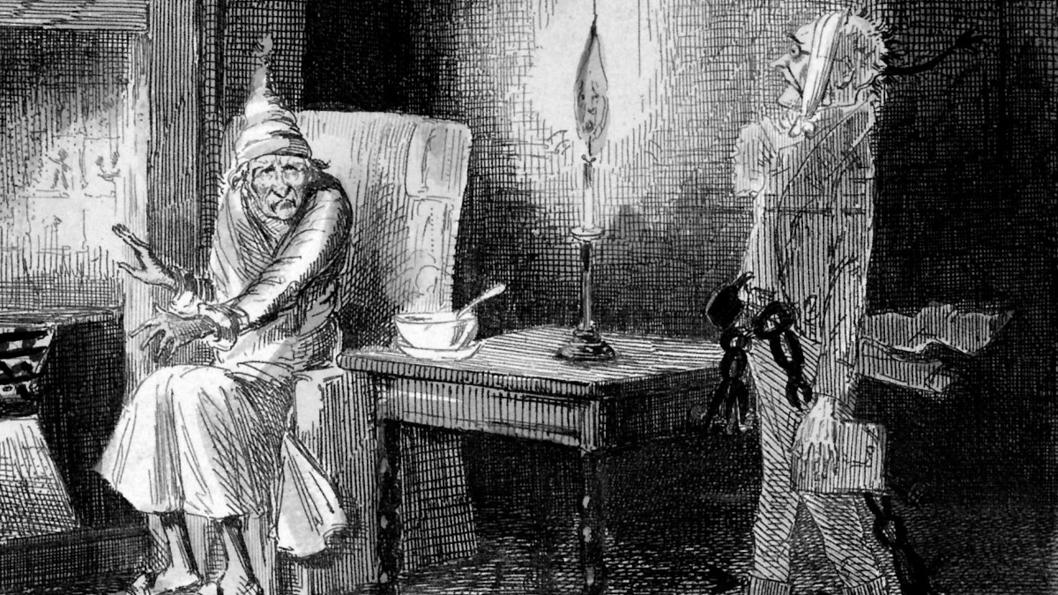 Scrooge-fantasma-Marley-Negocios