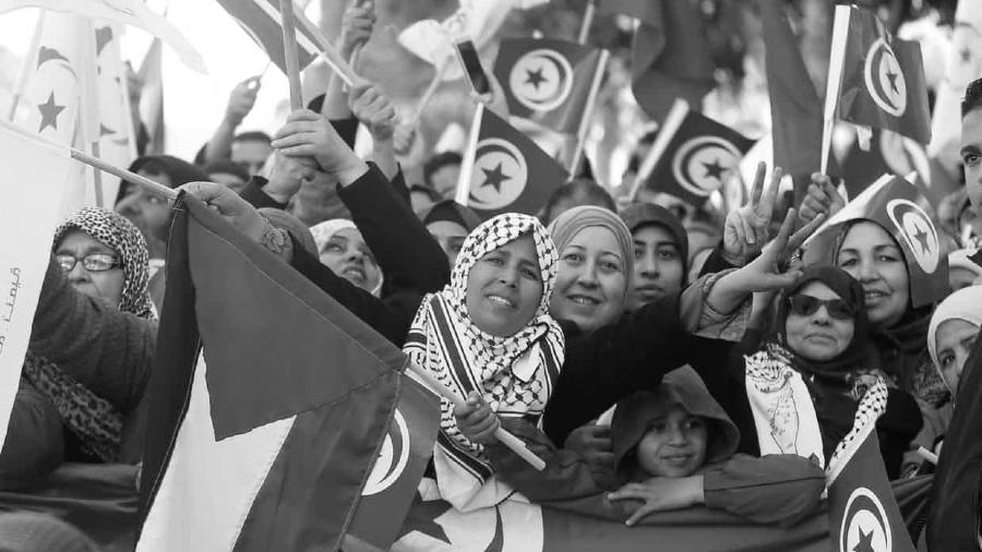 Tunez protestas de mujeres la-tinta