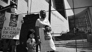 """Marchan por Gabriel Cesare: """"Necesito justicia para que mi hijo descanse en paz"""""""
