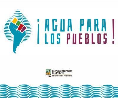 banner agua para los pueblos