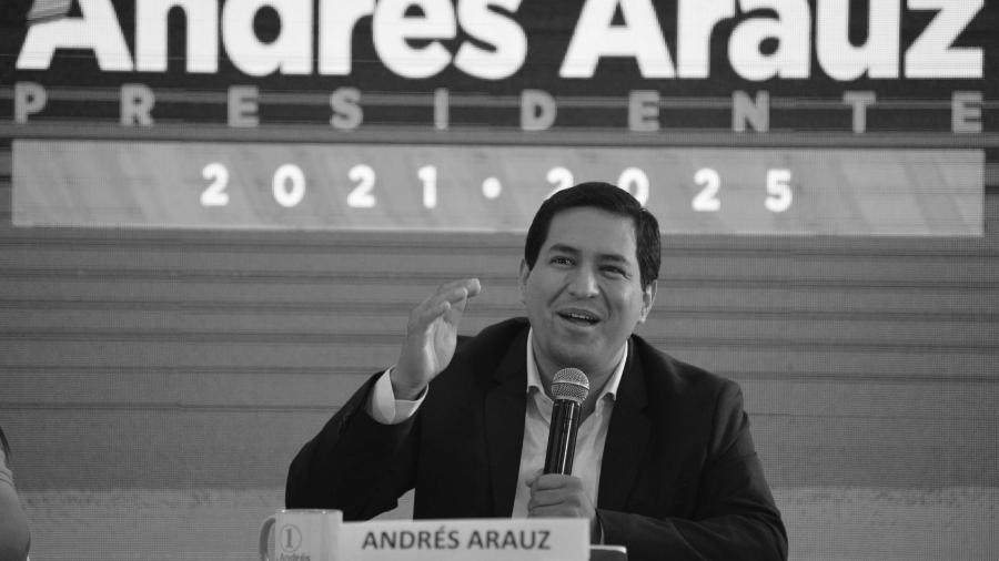 Ecuador Andres Arauz campaña la-tinta(1)
