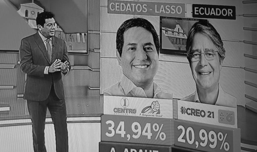 Ecuador Arauz Lasso elecciones la-tinta