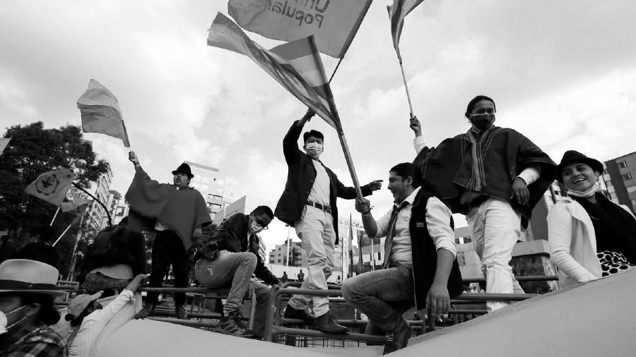 Ecuador Pachakutik protesta la-tinta