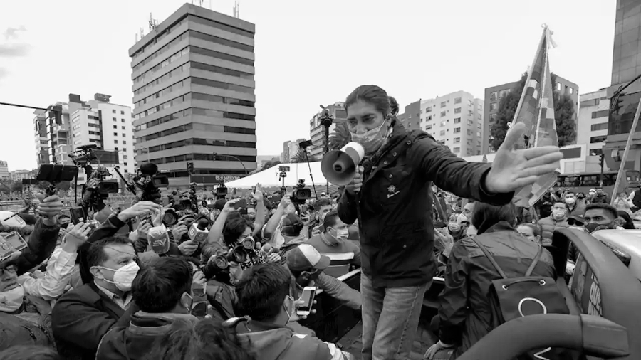 Ecuador Yaku Perez candidato presidencial la-tinta