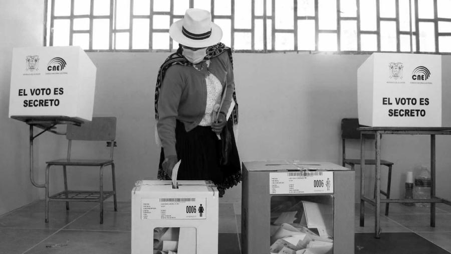 Ecuador elecciones 2021 la-tinta