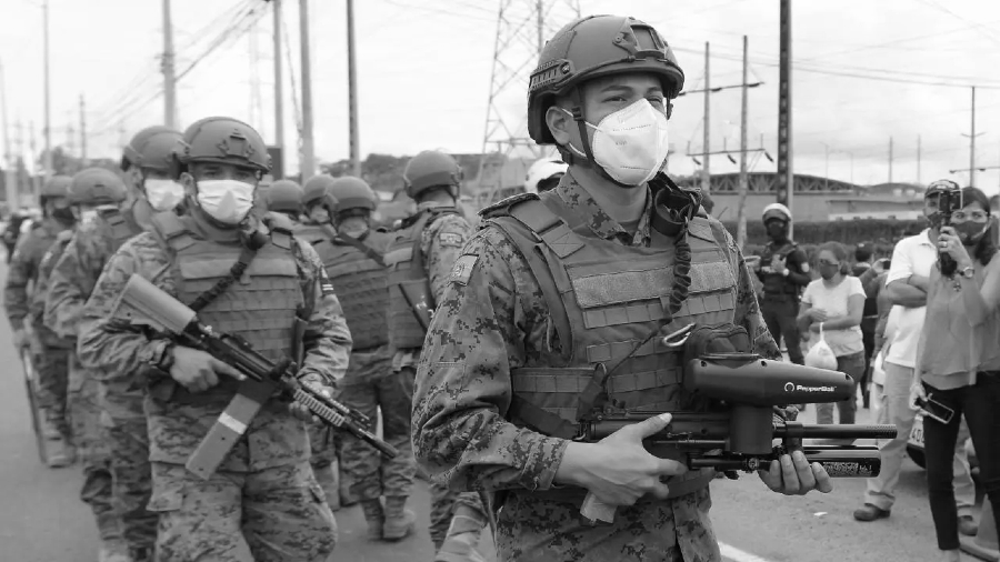 Ecuador represion en las carceles la-tinta