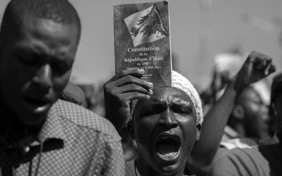 Haiti protestas constitucion la-tinta