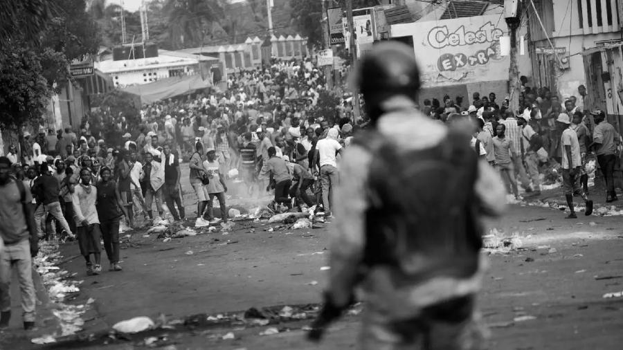 Haiti protestas masivas contra el gobierno la-tinta