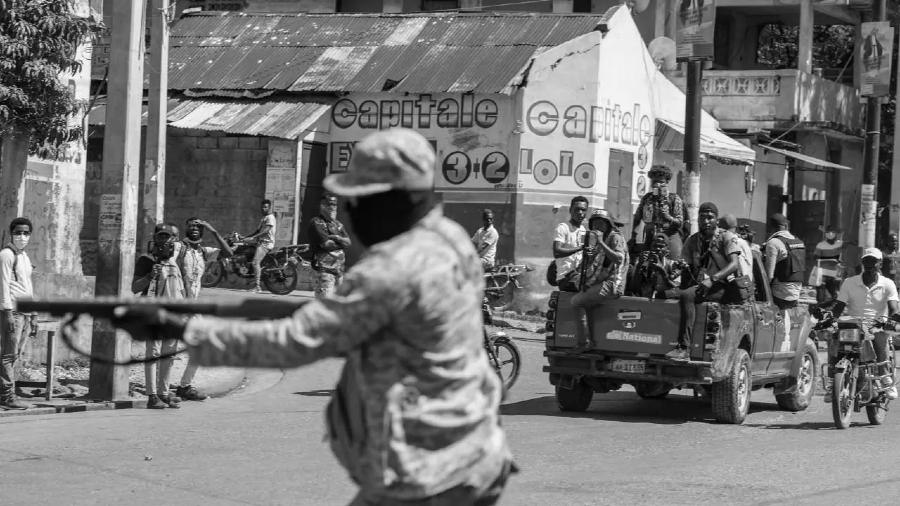 Haiti represion estatal la-tinta