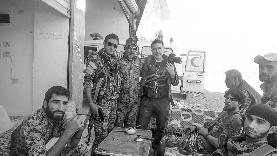 Kurdistan Ferran Barber milicianos FDS
