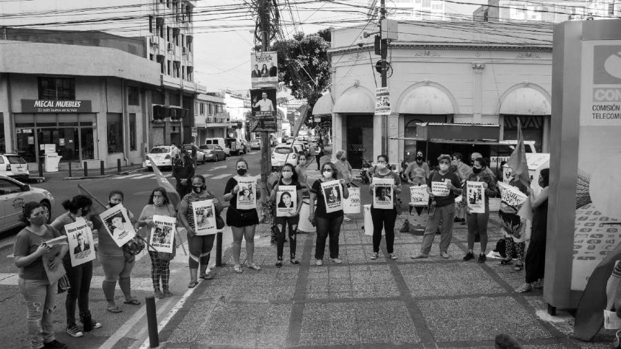 Paraguay manifestacion de mujeres la-tinta