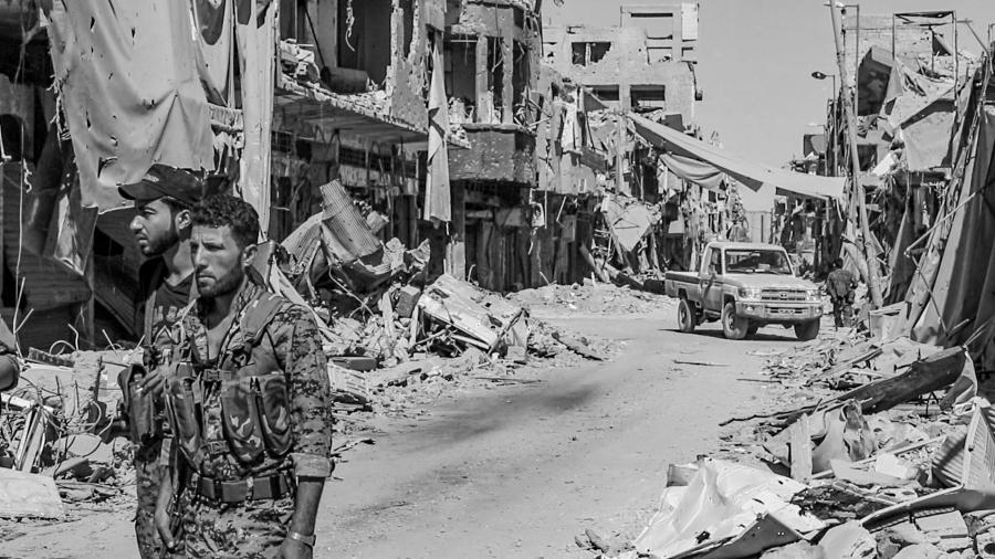 Siria Raqqa milicianos de las FDS la-tinta