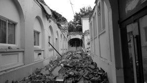 Derrumbe en el Hospital Misericordia: por una hora no fue tragedia