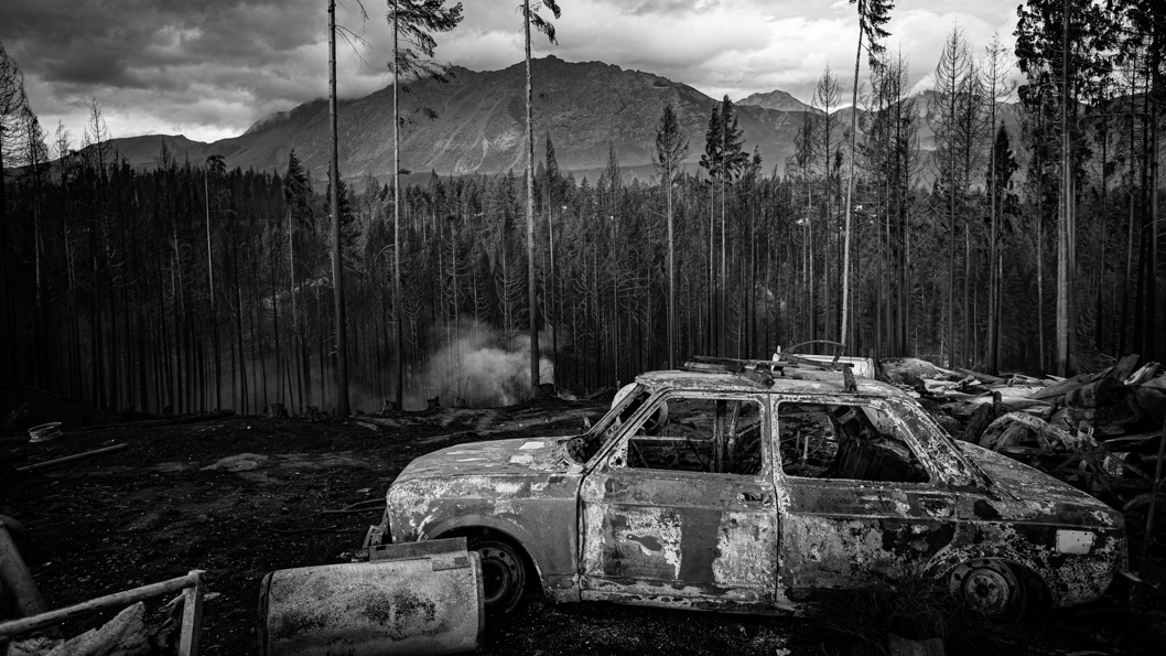 Fotogalería: incendios en la Patagonia | La tinta
