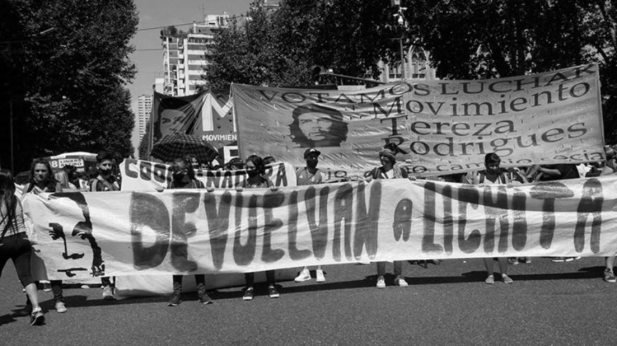 Argentina Aparicion con vida de Lichita la-tinta