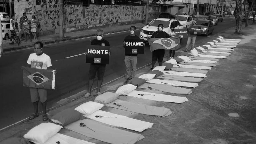 Brasil protestas coronavirus la-tinta