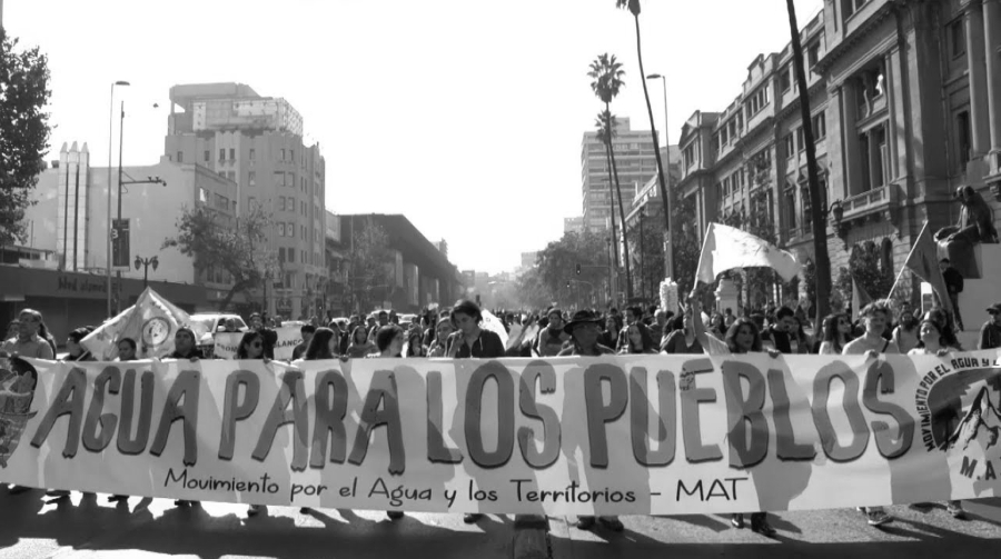 Chile agua para los pueblos la-tinta