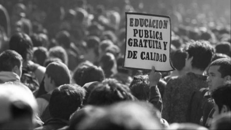 Chile lucha educacion publica la-tinta
