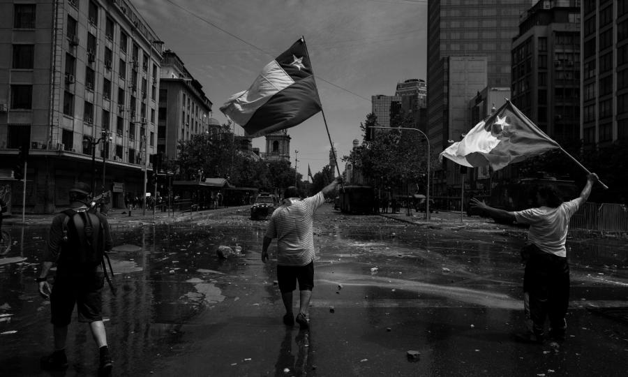 Chile protestas de estudiantes represion la-tinta