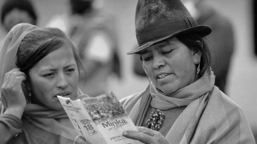Ecuador mujeres campesinas elecciones la-tinta