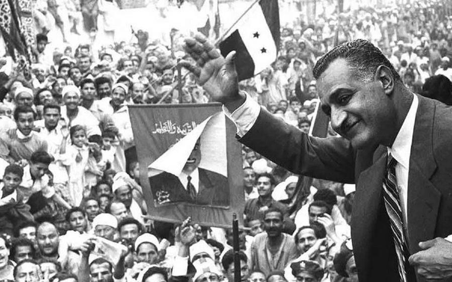 Egipto Nasser presidente la-tinta