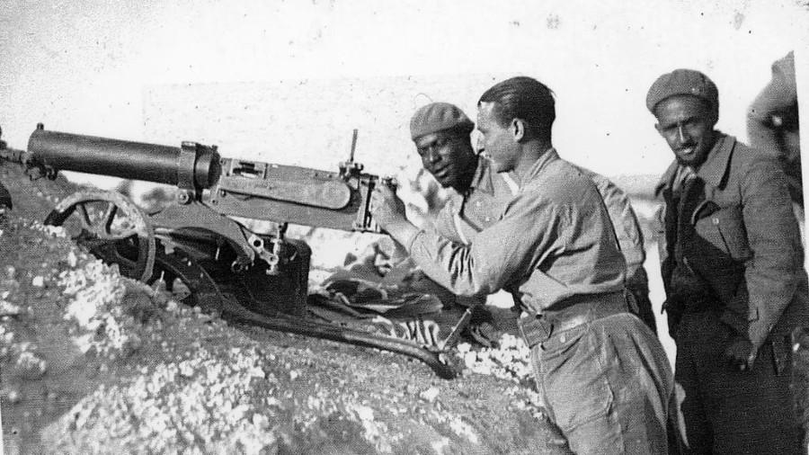 España Guerra civil afroamericanos la-tinta