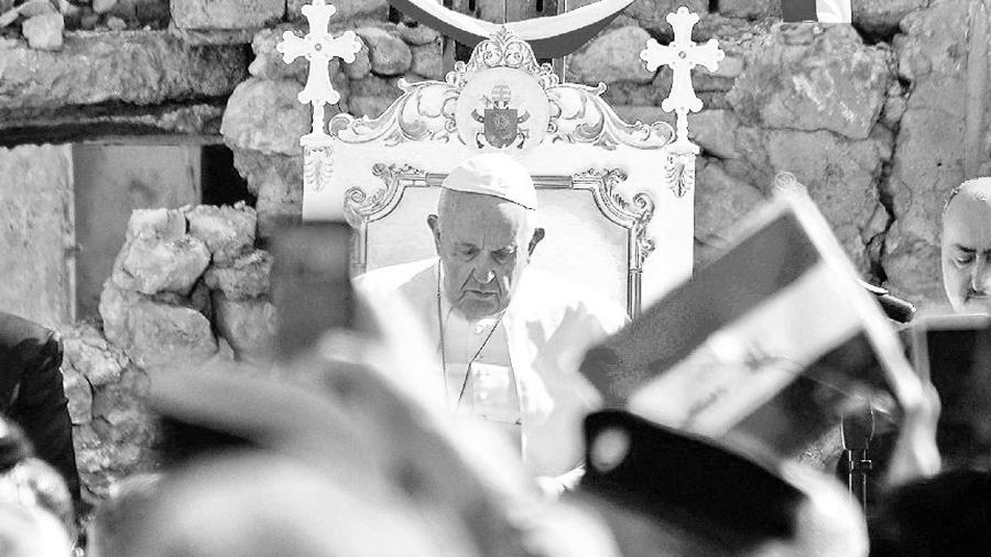 Irak Papa Francisco la-tinta