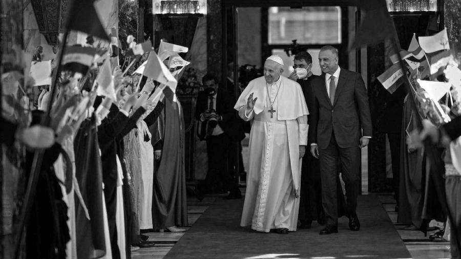 Irak visita del Papa Francisco la-tinta