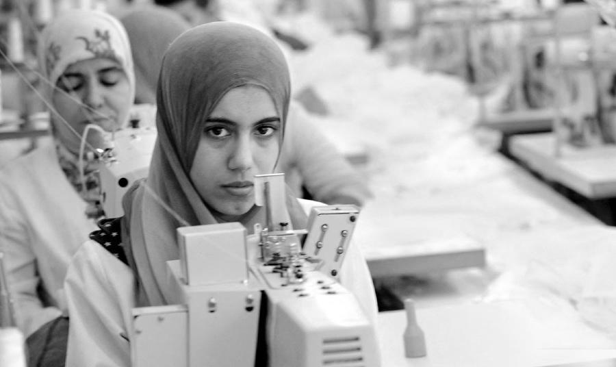 Marruecos obreras textiles la-tinta
