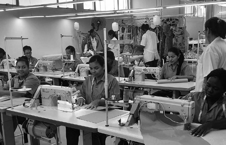 Marruecos talleres textiles la-tinta