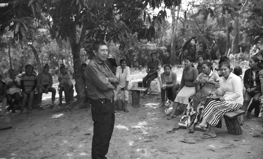 Paraguay comunidad Jasuká Renda la-tinta