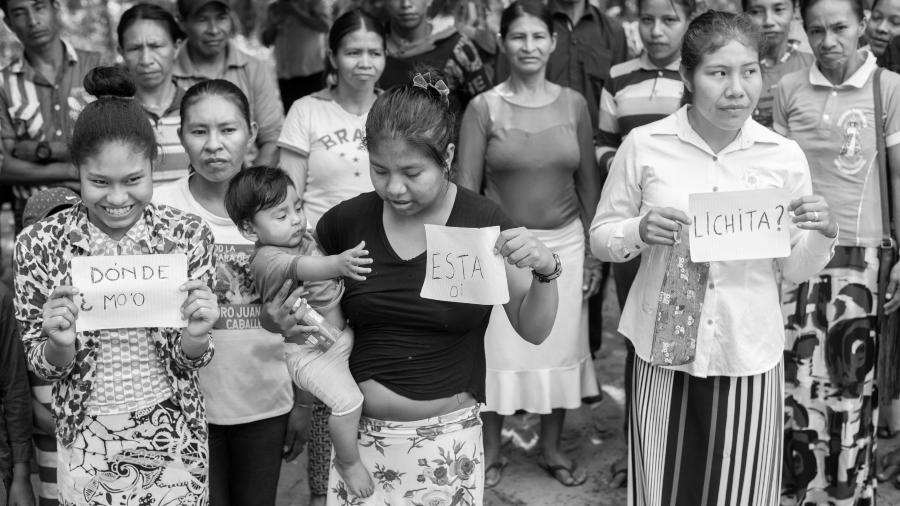 Paraguay comunidad guarani Lichita la-tinta