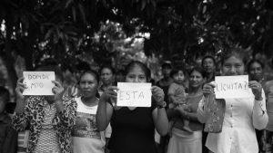 Buscan a una niña en un Paraguay convulsionado